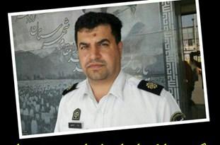 فرمانده پلیس راه در تصادف رانندگی کشته شد (تصاویر)