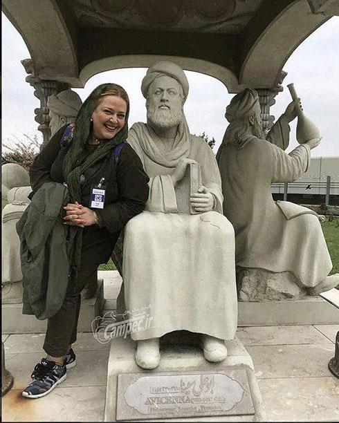 تیپ دیدنی بهاره رهنما و دخترش در اتریش (تصاویر)