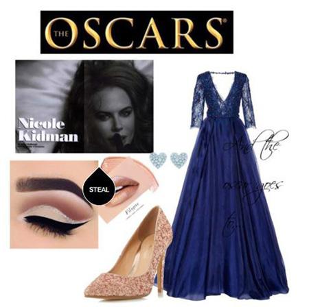تصاویر ست لباس شب های نیکول کیدمن