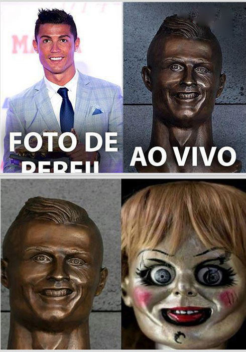 سوژه خنده شدن مجسمه رونالدو در زادگاهش