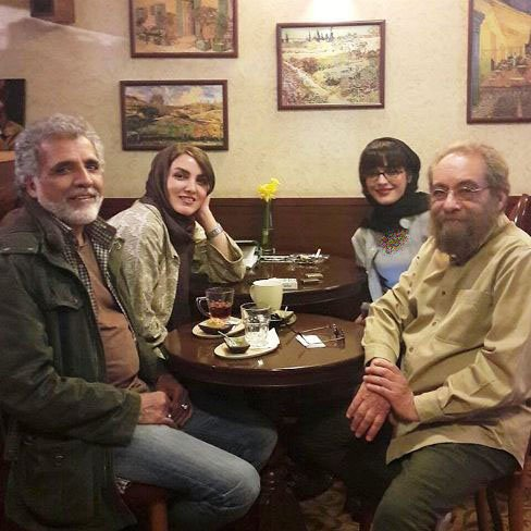ماجرای جنجالی مسعود فراستی و همسر جوانش (عکس)