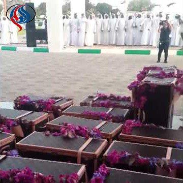 جنجال کاروان حمل مهریه میلیاردی دختر شاه بحرین (عکس)