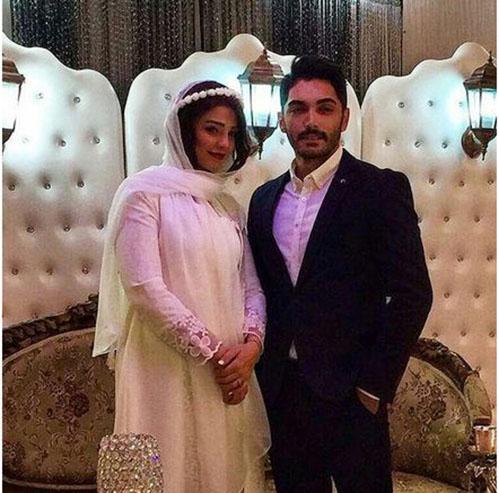 بازیگر مشهور علی البدل ازدواج کرد (عکس جشن عقد)