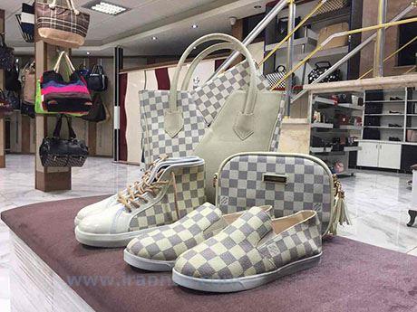 جدیدترین مدلهای ست کیف و کفش اسپرت