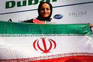 دختری که بدون مربی قهرمان دوی ماراتن تهران شد (تصاویر)
