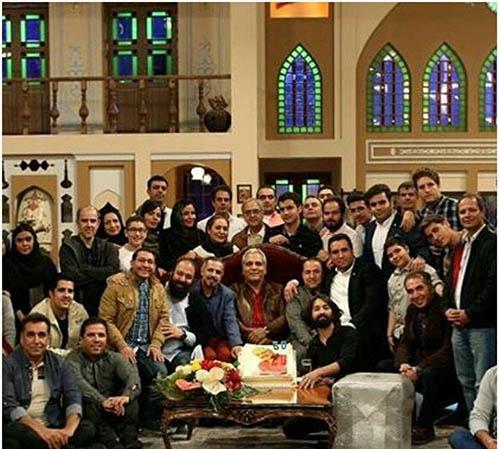 جشن تولد 50 سالگی مهران مدیری (عکس)