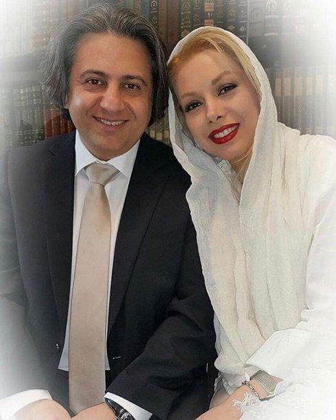 بهترین روز زندگی مرحوم افشین یداللهی و همسرش (عکس)