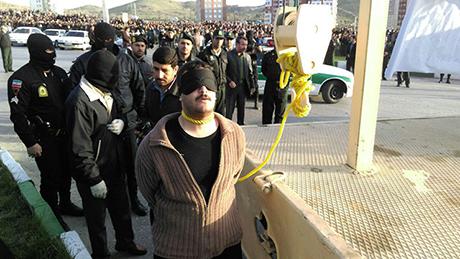جزئیات و تصاویر اعدام قاتل اراکی (فیلم و عکس)