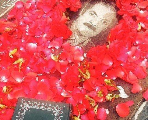 عکس غم انگیز مهناز افشار از پدرش
