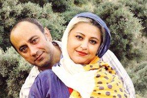 عکس عارف لرستانی در کنار همسرش الهام