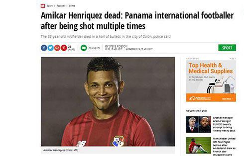 بازیکن مشهور تیم ملی فوتبال به قتل رسید (عکس)