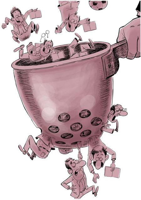 کاریکاتورهای مفهومی درباره انتخابات (عکس)