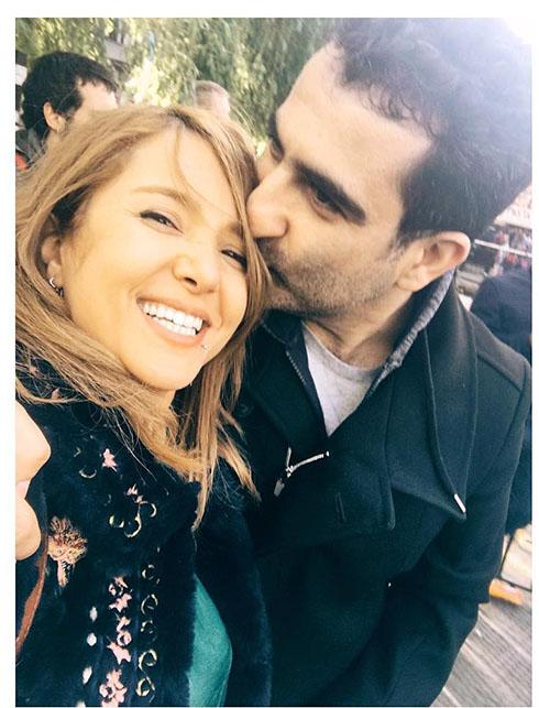 متن و عکس عاشقانه جدید مجری شبکه من و تو با رضا روحانی