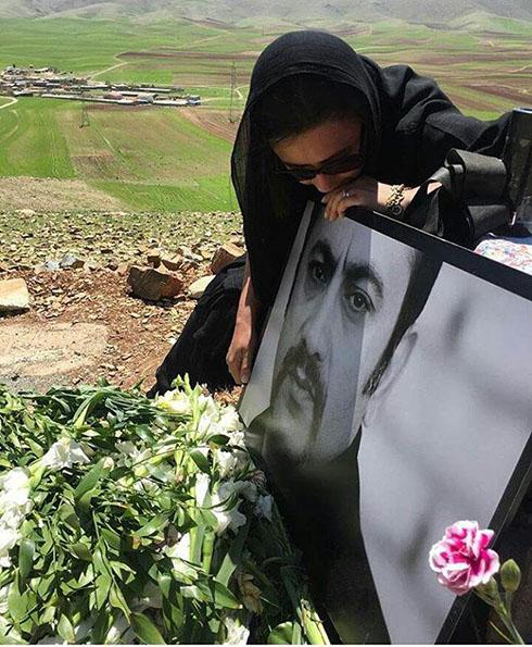 هنرمندان در مراسم هفتم عارف لرستانی (تصاویر و فیلم )