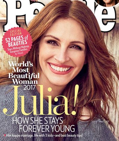 بازیگر معروف زیباترین زن سال انتخاب شد (عکس)