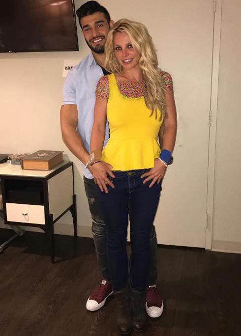 بریتنی اسپیرز از دوست پسر ایرانیش حامله شد (عکس)