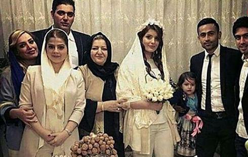 ازدواج بازیکن استقلال با خواهر زن خسرو حیدری (تصاویر)