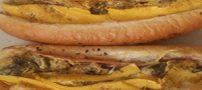 دستور پخت تهیه ساندویچ تنوری (تصاویر)