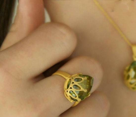 زیباترین و شیکترین مدلهای طلا و جواهرات برند Yass