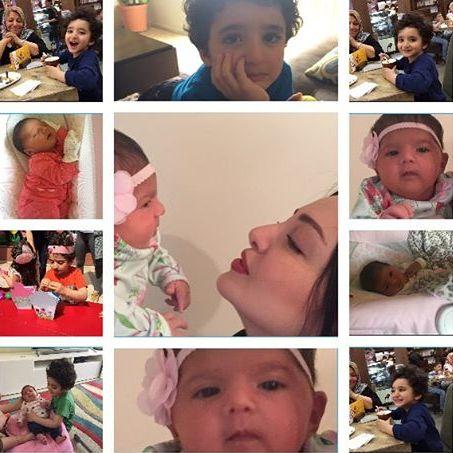 عکس های جدید ساتین و سامیار فرزندان شیلا خداداد