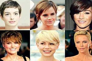 تصاویر انواع مدل موی چتری