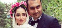 لباس عروس خاص هانیه غلامی بازیگر در روز ازدواج (تصاویر)
