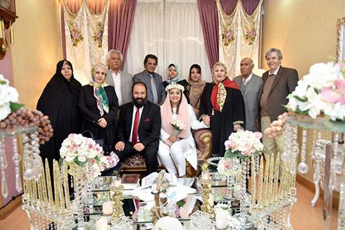 تصاویر ازدواج نرگس محمدی و علی اوجی و بیوگرافی