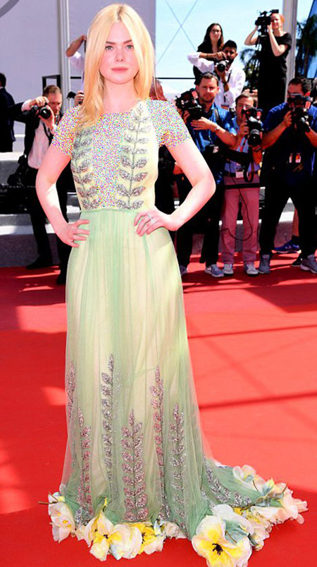 مدل لباس بازیگران در جشنواره کن 2017