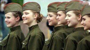 زیباترین زنان ارتشی و سرباز جهان