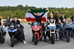 رقابت بهناز شفیعی، دختر موتور سوار ایرانی در آمریکا