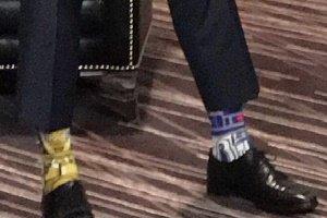 جوراب های خنده دار نخست وزیر کانادا (عکس)