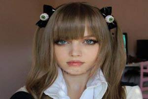 چشمان زیبای این دختر غوغا به پا کرد (عکس)