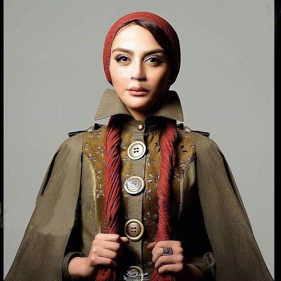 لباس عجیب این بانوی بازیگر کشورمان (عکس)