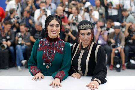 تیپ دو بازیگر زن کشورمان بر روی فرش قرمز
