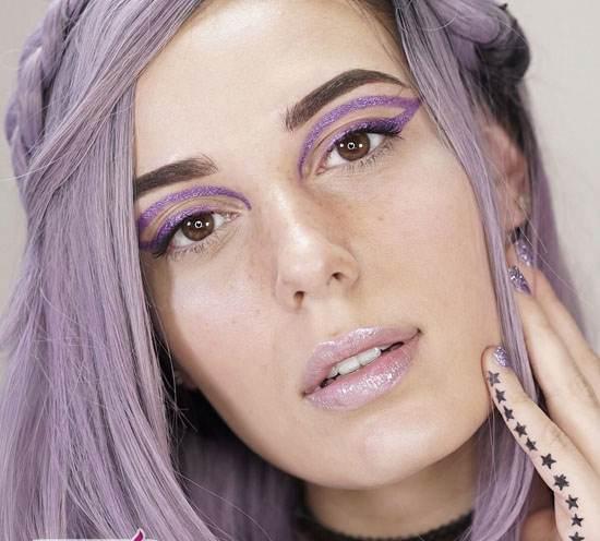 جدیدترین مدلهای میکاپ فانتزی 2017