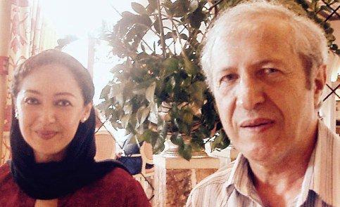 عکسی از نیکی کریمی به همراه پدرش در سوییس