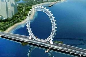 عظیم ترین و هیجان انگیز ترین چرخ و فلک دنیا (عکس)