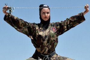 عکس های سوپر نینجاهای زن ایرانی از نگاه غربی ها