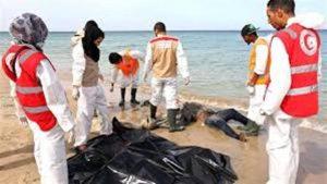 پیدا شدن 255 جسد در سواحل لیبی