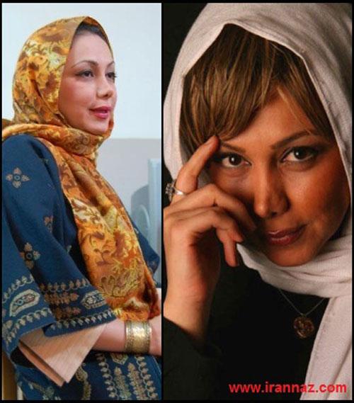 تفاوت چهره بازیگران زن بدون گریم (عکس)