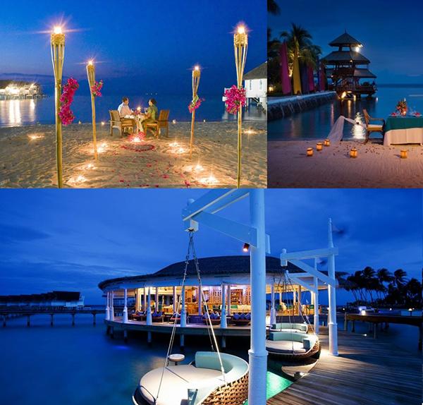 عروس خوش شانس در جزیره زیبای مالدیو (عکس)