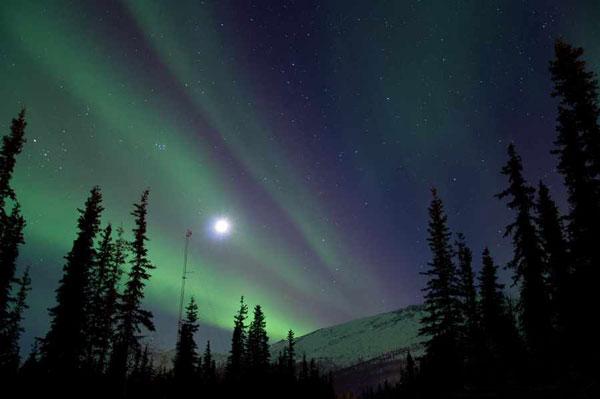 خارق العاده ترین عکسهای طبیعت در شب