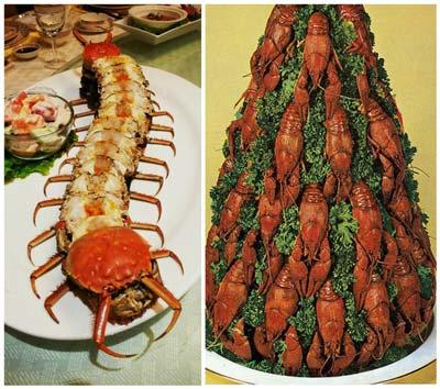 ترسناک ترین و چندش آورترین نوع تزیین غذا (عکس)