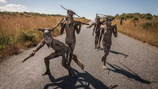 رسومات باورنکردنی در میان قبایل آفریقایی (عکس)