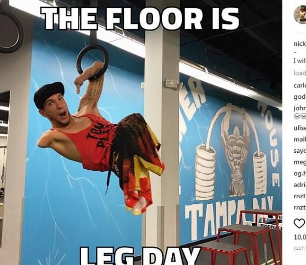 خارق العاده ترین ورزشکار بدون پا (عکس)