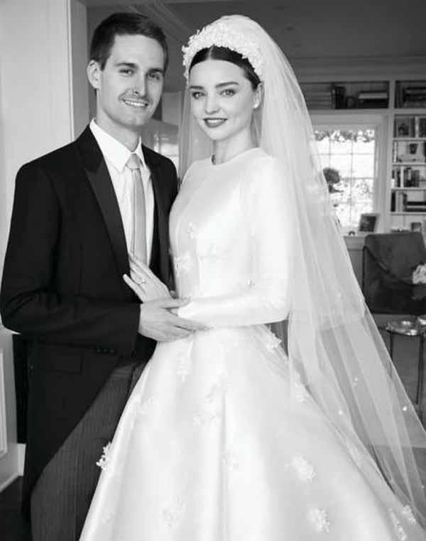 لباس عروس بسیاز زیبای این مدلینگ معروف (عکس)