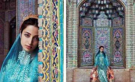 این دختر شیرازی زیباترین دختر جهان شد (عکس)