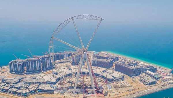 بزرگترین و خفن ترین چرخ و فلک دنیا را ببنیند