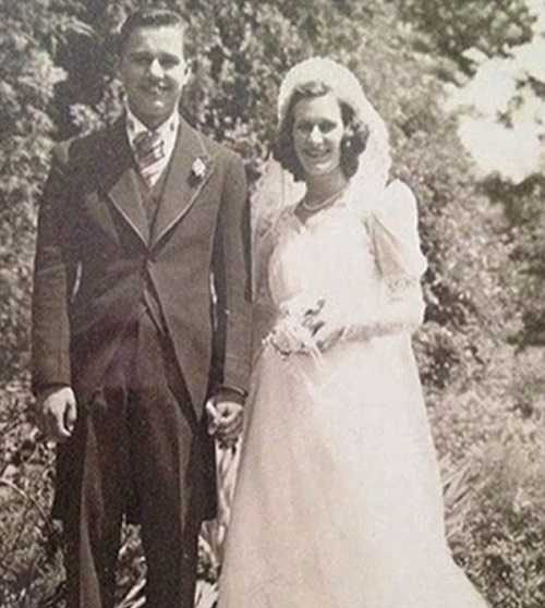 مرگ زیبای این زن و مرد عاشق پیشه (عکس)