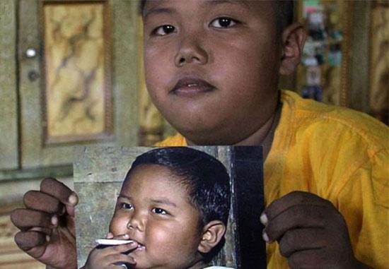 کم سن ترین سیگاری جهان